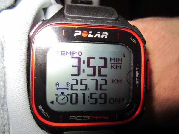Veckans långpass och recension av Polar RC3 gps