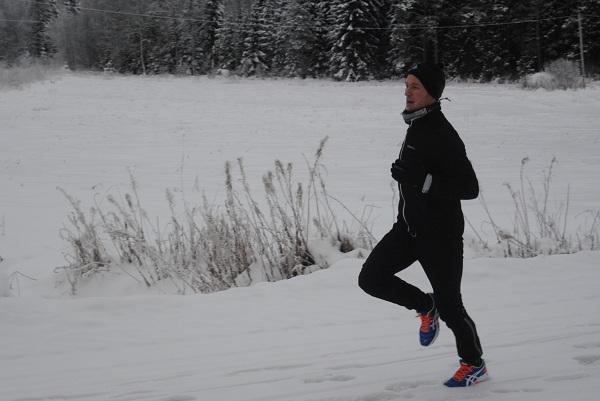 Benny Sjölind vinterlöpning 2
