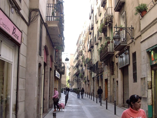 gränd i barcelona