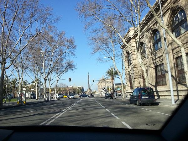 Barcelonaresan-första dagen