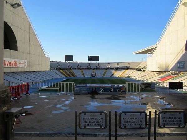 olympiastadion i barcelona