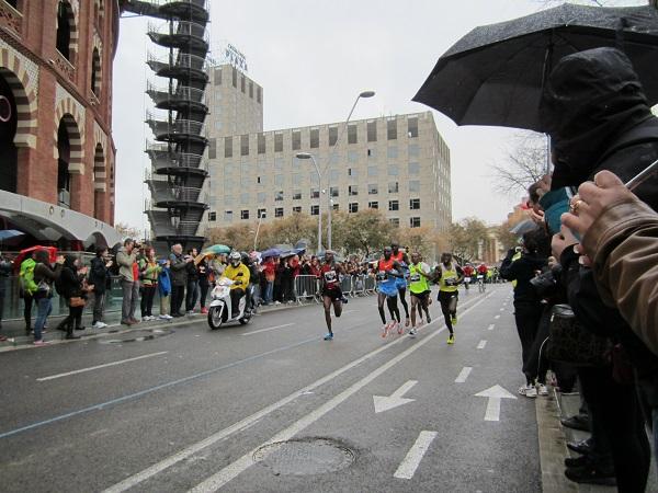 täten i barcelona marathon
