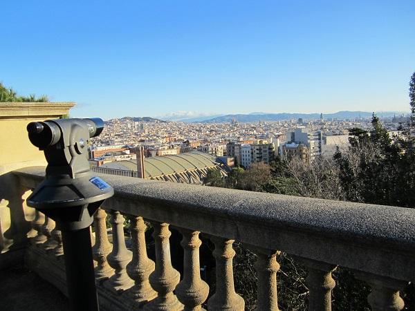 utsikt barcelona