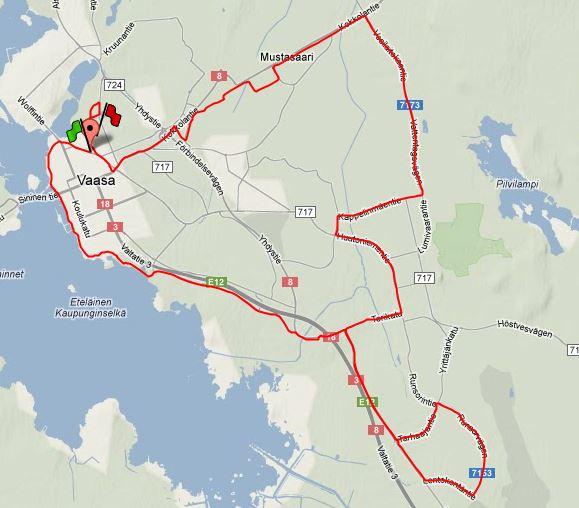 Dagens långpass på 34 km