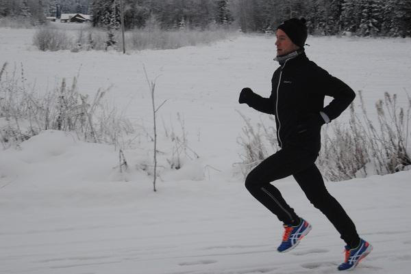 Benny Sjölind vinterlöpning