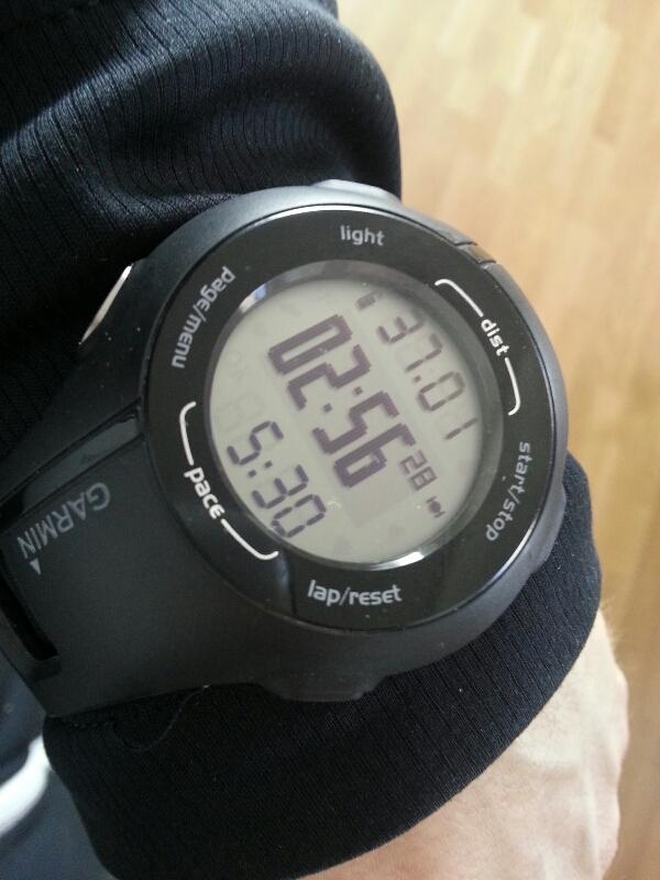 Dagens långpass på 37 km