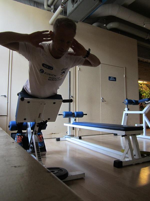 ryggövningar gym