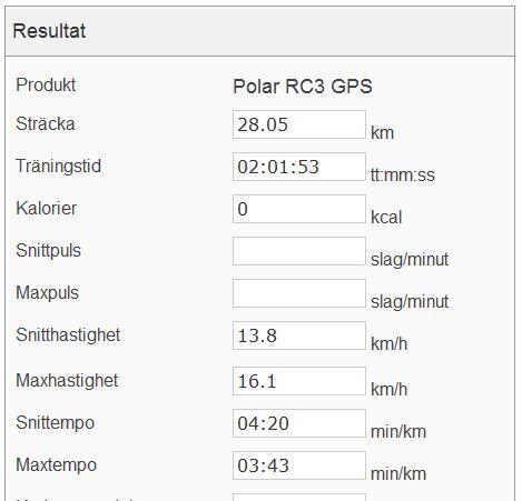 sammanfattning långpass 18.5 polar