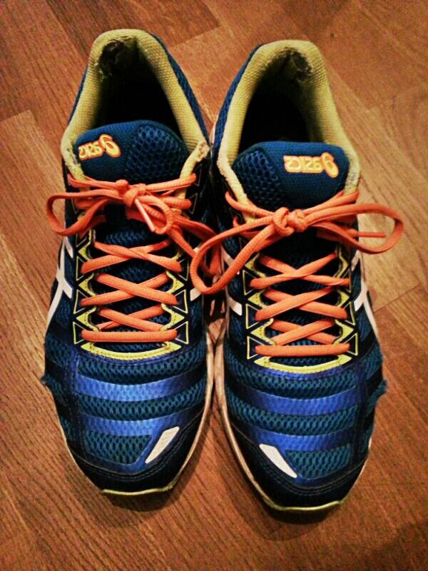 Hur länge håller ett par löparskor?