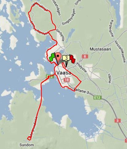 cykeltur 40 km