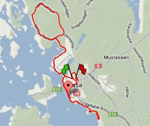 Dagens långpass på 35 km