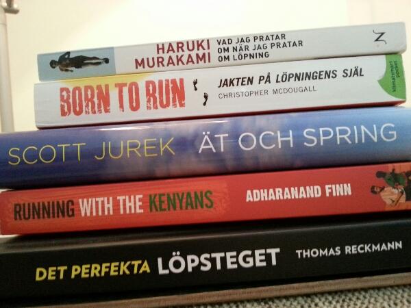 5 bra böcker om löpning