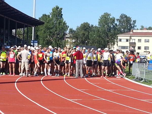 Erfarenheter från årets Jakob Marathon