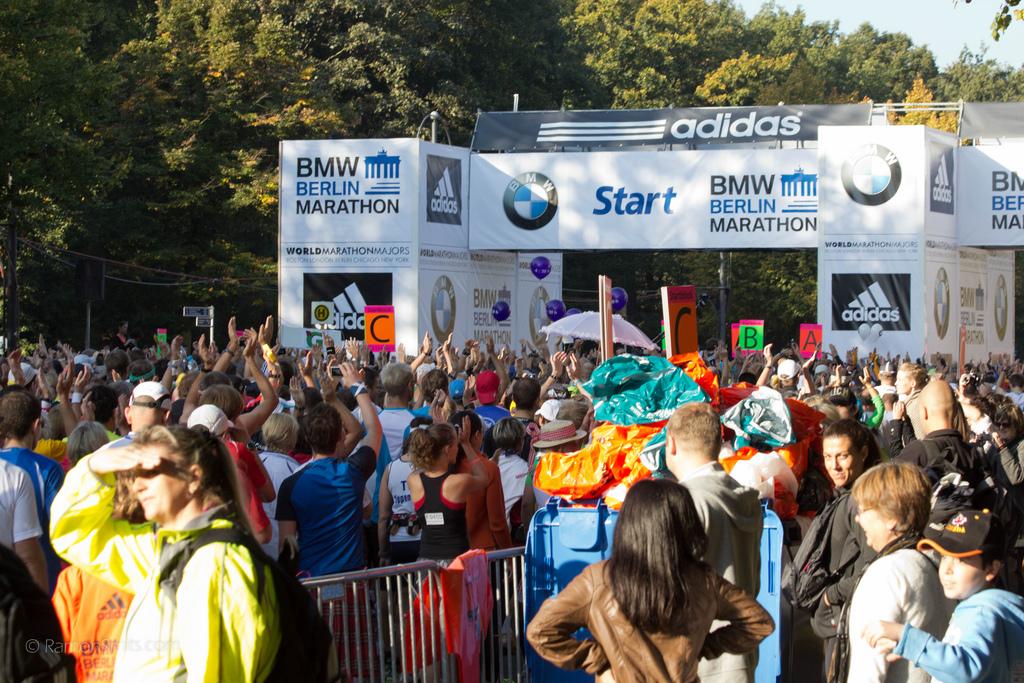 Marathon Berlijn 2011