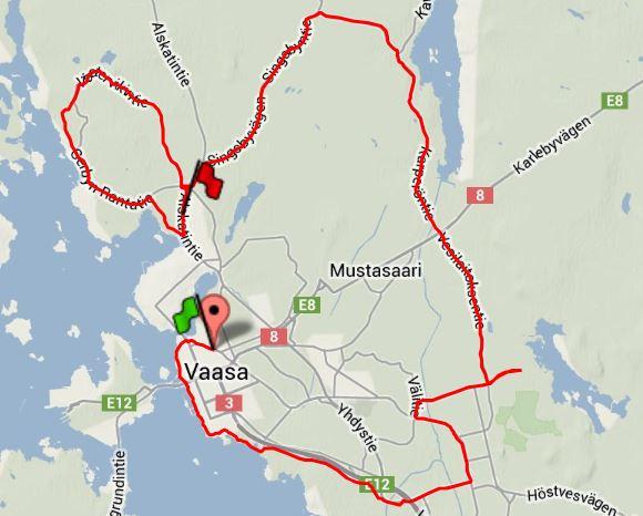 Långpass 40 km