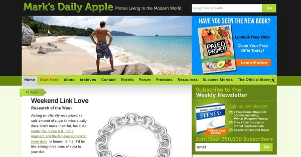 Marcs daily apple