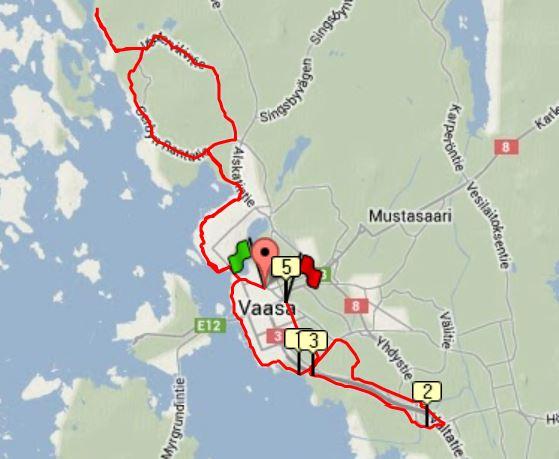 Långpass 35 km
