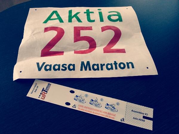 Lite funderingar inför Vasa halvmaraton