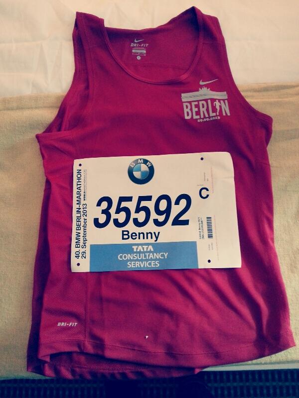Redo för Berlin Marathon!