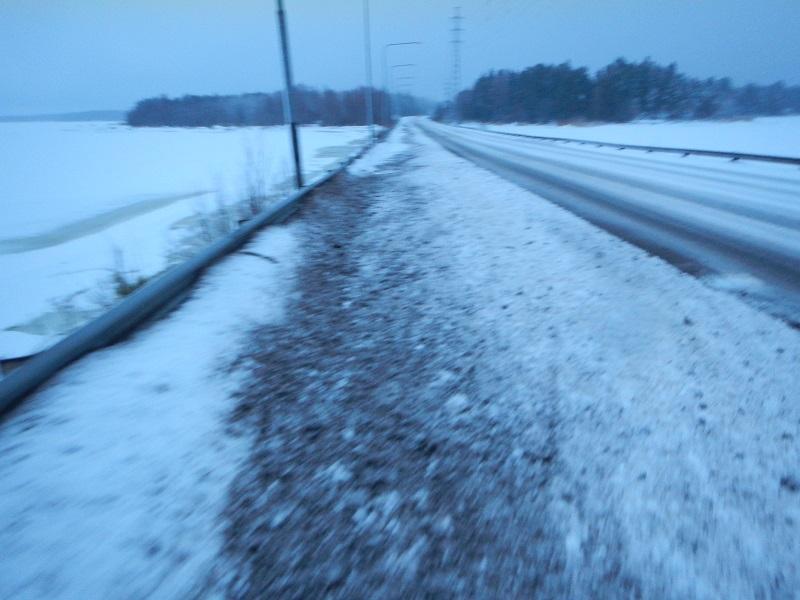 Långpass 8.2.2014 snömodd