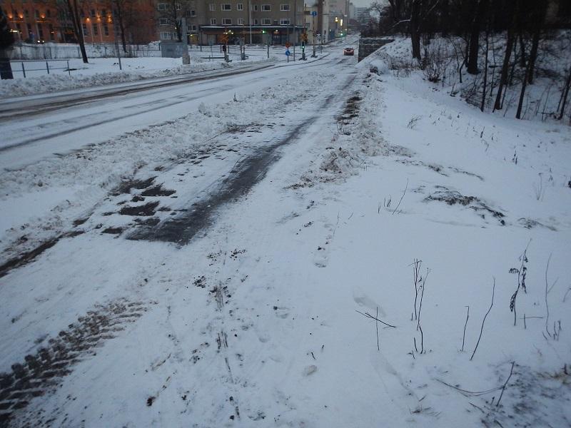 långpass 22.2.2014 snö