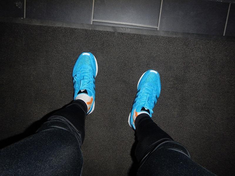 långpass 15.3.2014 nya skor