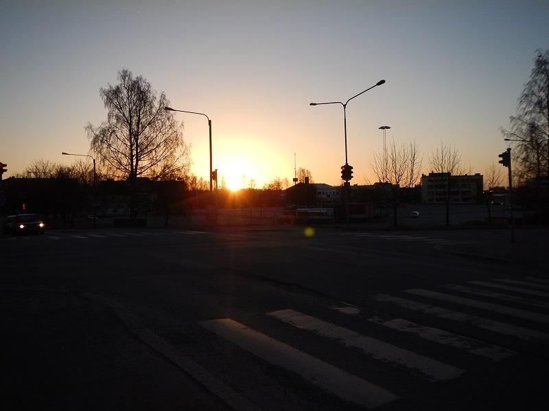 långpass 15.3.2014 tidig morgon