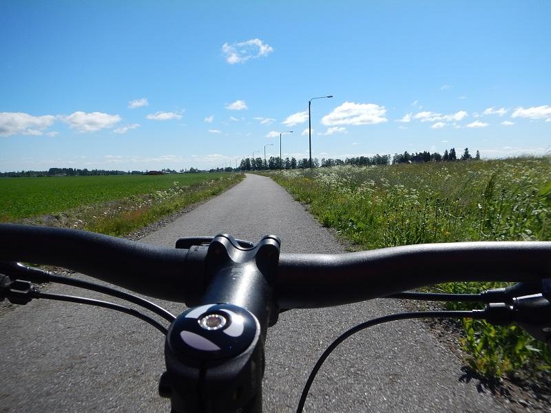 cykelpass mot laihia