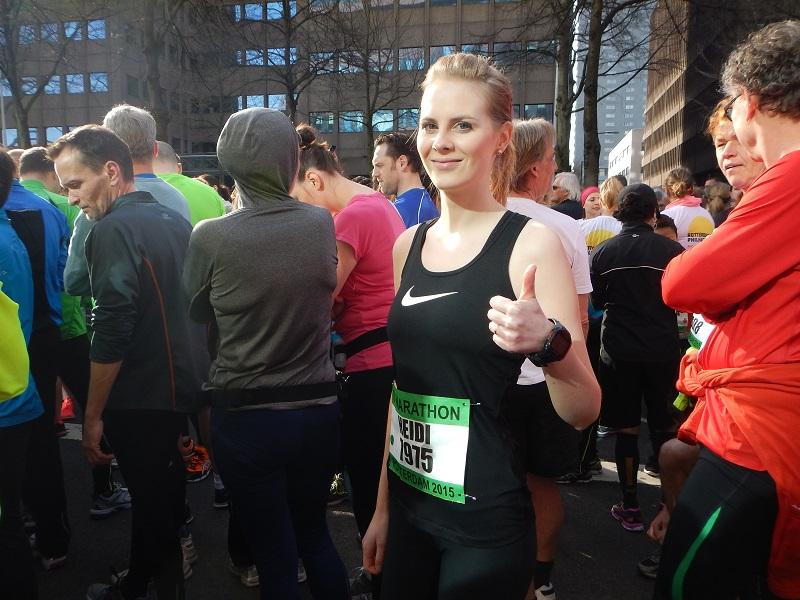 heidi rotterdam marathon