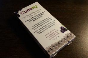 Utvärdering av kosttillskottet CurraNZ™