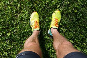 Hård träning med dubbelpass