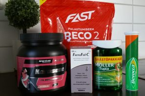 Nyttiga kosttillskott för löparen – Vad jag använder mig av