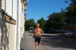 Summering av juli månads träning