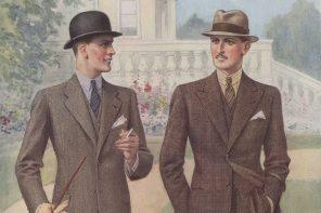 Mitt intresse för kläder och klassiskt herrmode