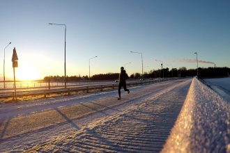 löpning vinter