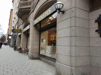 antikvariat stockholm