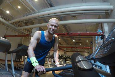 träning på löpband