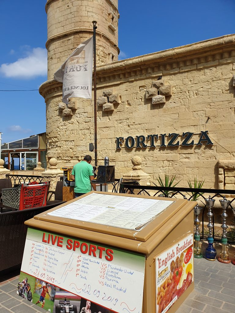 restauranger på malta Sliema