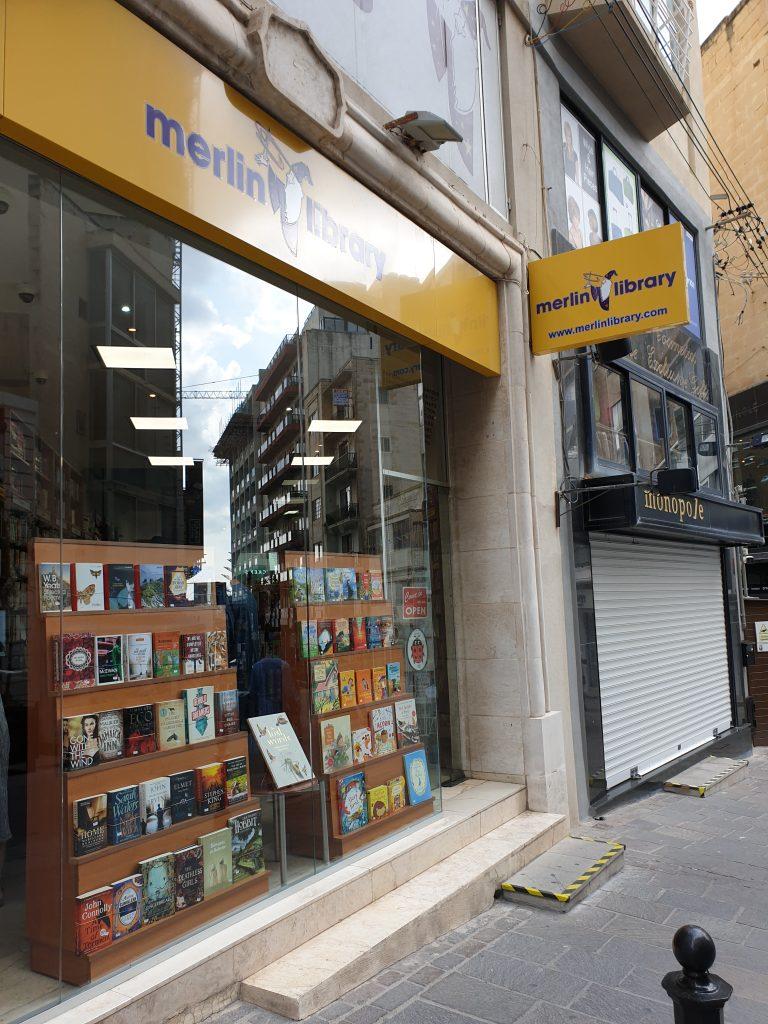 bra bokaffärer i Sliema malta