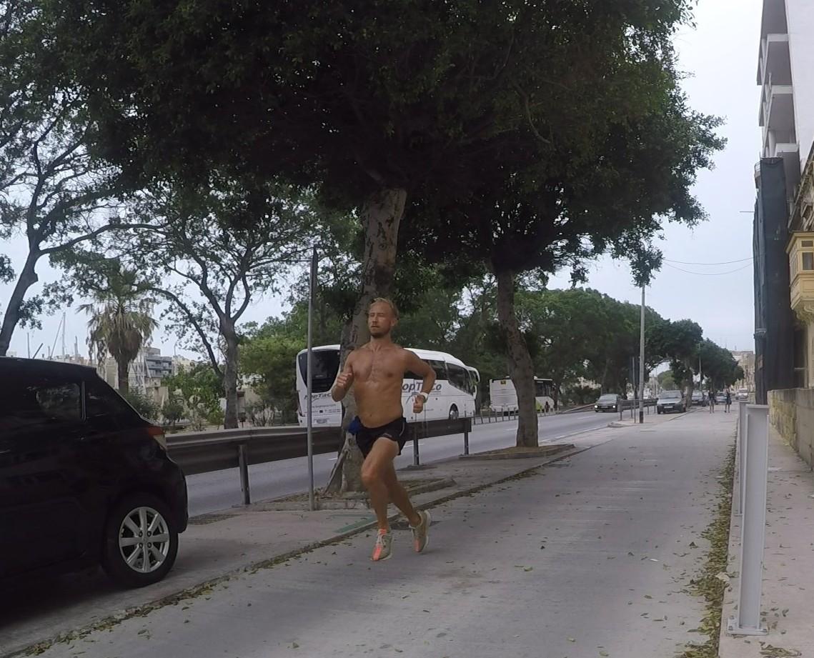 maratonträning malta