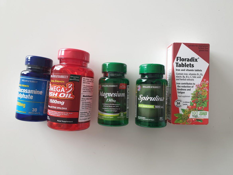 kosttillskott för löpning