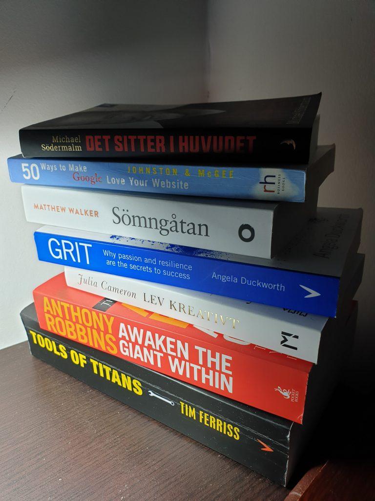 bästa böckerna för personlig utveckling