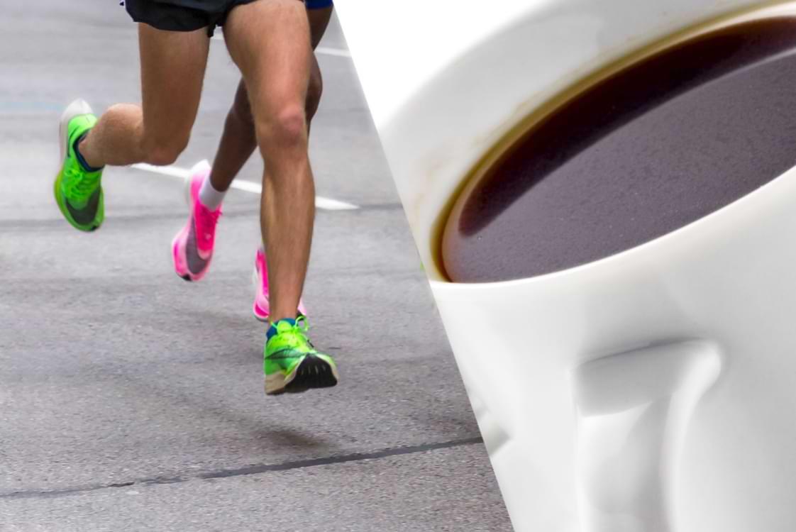 kaffe och träning prestation